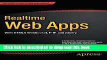 Ebook Realtime Web Apps: With HTML5 WebSocket, PHP, and jQuery Free Online