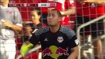 David Accam Goal HD - Chicago Fire 1-1 NEW York Red Bulls  - 31.07.2016 MLS