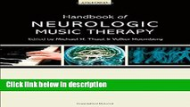 Books Handbook of Neurologic Music Therapy Free Online