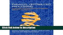 Ebook Parallel Distributed Processing: Explorations in the Microstructure of Cognition (2 Volume
