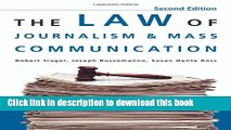 Ebook The Law Of Journalism And Mass Communication Free Download