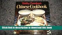 Ebook Betty Crocker s Chinese Cookbook Full Online