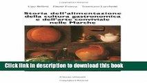 Ebook Storia dell alimentazione della cultura gastronomica e dell arte conviviale nelle Marche