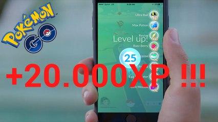 Cómo subir rápido de experiencia en Pokémon Go