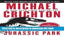 Books Jurassic Park: A Novel Free Online