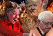 Hillary Clinton vs. Donald Trump: Battle of the Political Puppets