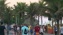 Les touristes arrivent à Rio, à cinq jours des JO