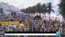 Brésil : des milliers de Brésiliens dans la rue pour demander la destitution définitive de Dilma Rousseff