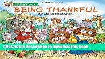 [Read PDF] Being Thankful (Mercer Mayer s Little Critter) Download Online