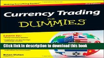 Ebook Currency Trading For Dummies Full Online