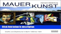 Ebook Wall Art: Graffiti and Object Art in Berlin 1989 to 1994 Free Download