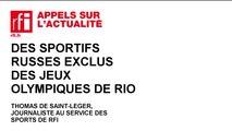 Jeux Olympiques de Rio : de nombreux sportifs russes exclus pour dopage