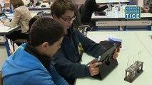Réaliser un compte-rendu d'expérience à l'aide de tablettes