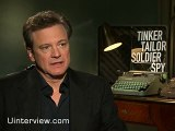 Colin Firth talks to fans directly in live interview on spies, how much of himself is in the character, how he sees his spy role