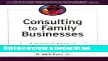 Books Consulting to Family Businesses: Contracting, Assessment, and Implementation Free Online