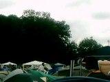 dour festival 2007 le début du camping