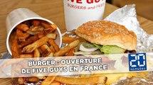 Burger: Ouverture de Five Guys en France