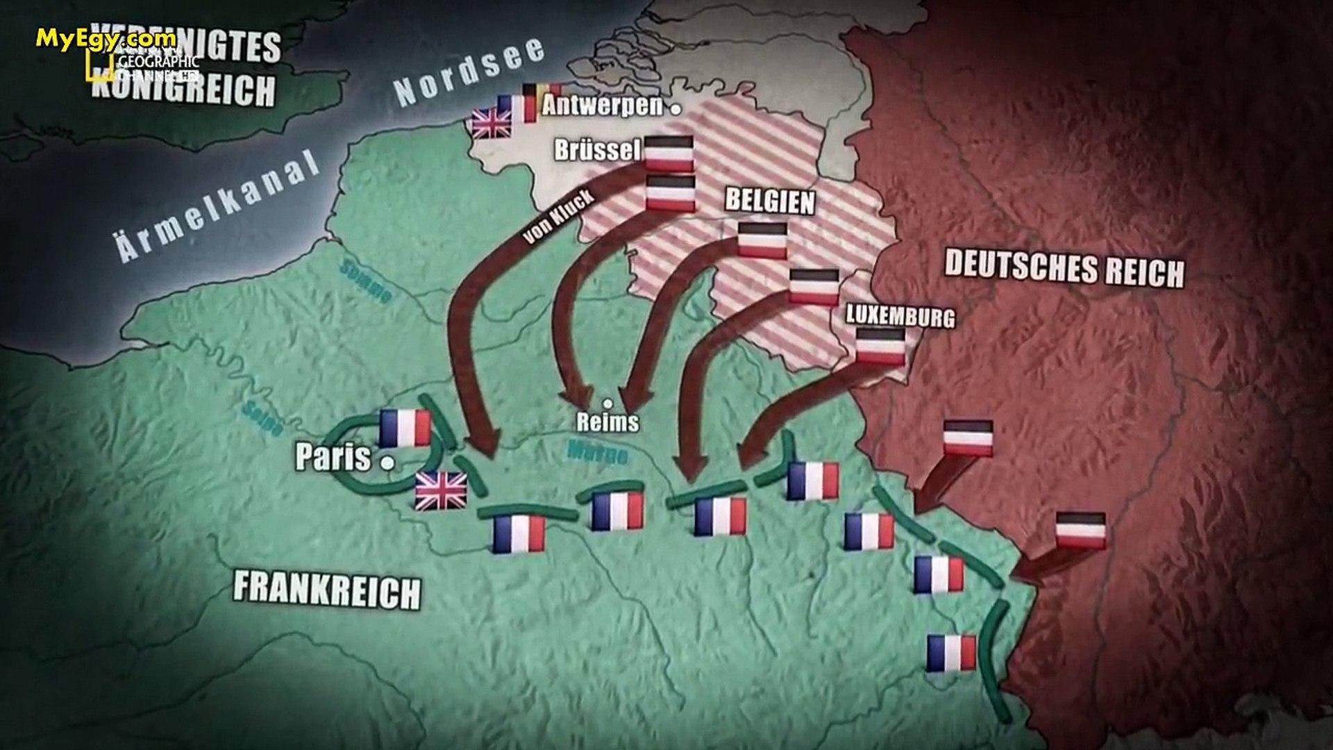 السلسلة الوثائقية الحرب العالمية الاولى   الجزء الثاني