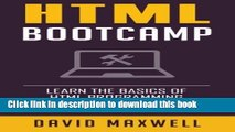 Ebook HTML: Quick Start Guide: Learn The Basics Of HTML and CSS in 2 Weeks (Free Books, HTML5,
