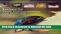 Ebook Insects: Their Natural History and Diversity: With a Photographic Guide to Insects of