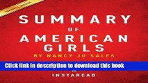 Ebook Summary of American Girls: By Nancy Jo Sales Includes Analysis Free Online