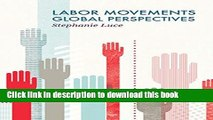 Ebook Labor Movements: Global Perspectives (Social Movements) Free Online