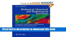 Biological, Chemical, and Radiological Terrorism: Emergency Preparedness and Response for the