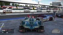 Project CARS - Funny Bug Crash Two Cars in one in stands (pits) - deux voitures dans les stands
