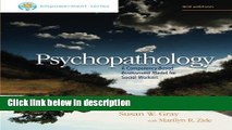 Books Brooks/Cole Empowerment Series: Psychopathology: A Competency-Based Assessment Model for