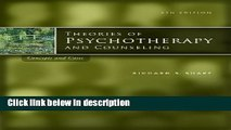 Ebook Bundle: Theories of Psychotherapy   Counseling: Concepts and Cases, 5th + DVD-Theories in