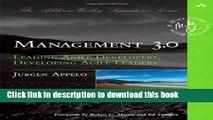 Ebook Management 3.0: Leading Agile Developers, Developing Agile Leaders (Addison-Wesley