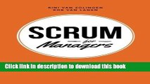 Ebook Scrum For Managers: Management Secrets To Building Agile   Results-Driven Organizations by