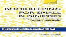 PDF  Successful Bookkeeping for Small Businesses (Teach Yourself)  Online