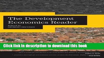 Ebook The Development Economics Reader Full Online