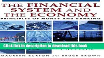 Ebook Financial System of the Economy: Principles of Money and Banking: Principles of Money and