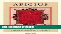 Ebook Apicius Free Online
