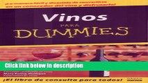 Books Vino Para Dummies/wine For Dummies (Spanish Edition) Free Online