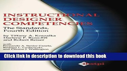 Read Pdf Instructional Designer Competencies The Standards Fourth Edition Ibstpi Book Ebook Video Dailymotion