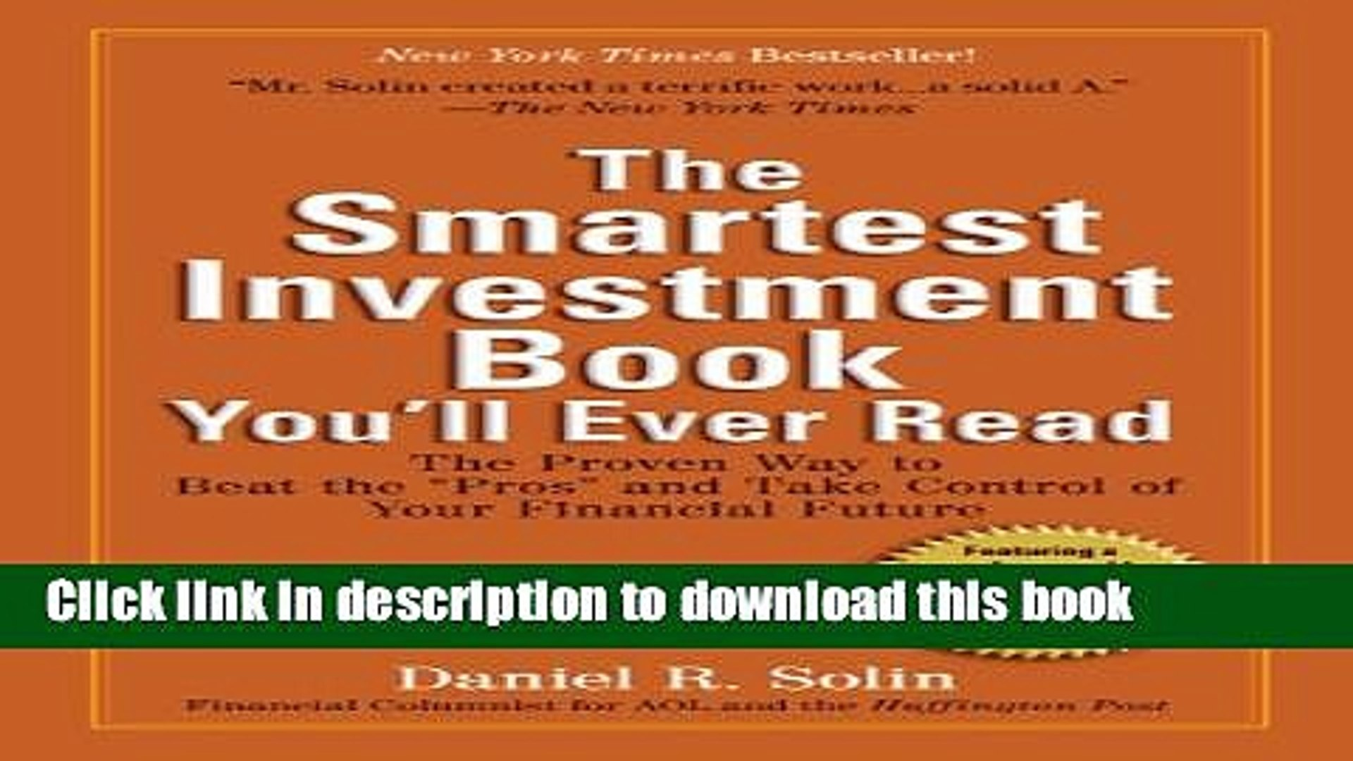 Books The Smartest Investment Book You ll Ever Read: The Proven Way to Beat the