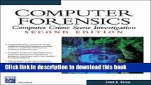 Ebook Books} Computer Forensics: Computer Crime Scene Investigation (Networking Series) (Charles