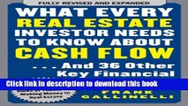 Books What Every Real Estate Investor Needs to Know About Cash Flow... And 36 Other Key Financial