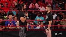 Finn Bálor silences Seth Rollins- Raw, Aug. 1, 2016
