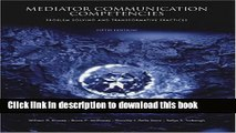 PDF  Mediator Communication Competencies: Problem Solving and  Free Books
