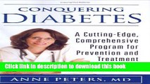 Ebook Conquering Diabetes: A Cutting-Edge, Comprehensive Program for Prevention and Treatment Free