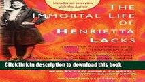 Books The Immortal Life of Henrietta Lacks The Immortal Life of Henrietta Lacks Full Online