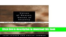 Ebook Voices of Reason, Voices of Insanity: Studies of Verbal Hallucinations Full Online