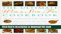 Books Ultimate Wok   Stir-Fry Cookbook: The Best Ever Step-By-Step Collection of Wok and Stir-Fry