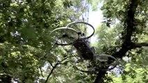 Hoverbike: il prototipo di moto-quadricottero
