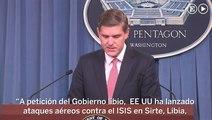 EEUU ataca a ISIS en Libia