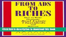 Books From Ads to Riches: How to Write Dynamite Real Estate Classifieds and Harvest the Results